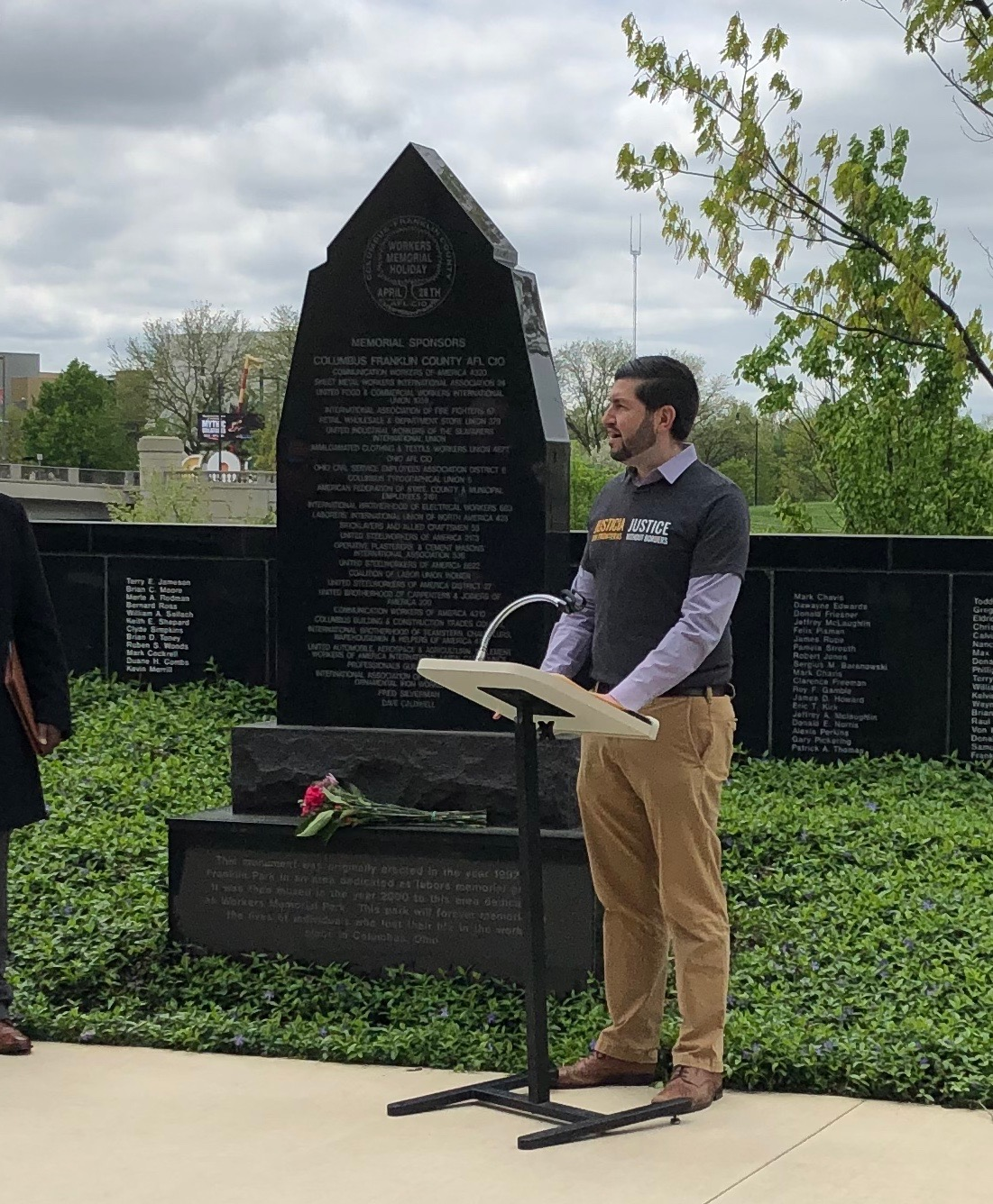 Ohio AFL-CIO Workers' Memorial Day 2019 Remarks | Central
